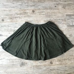 Brandy Melville Skirts - BRANDY MELVILLE | SANNY CIRCLE SUEDE SKIRT BUNDLE